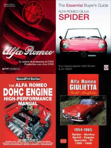 BOOKS ADDED: Alfa Romeo