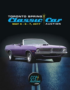 UPCOMING EVENT: The Toronto Spring Classic Car Auction