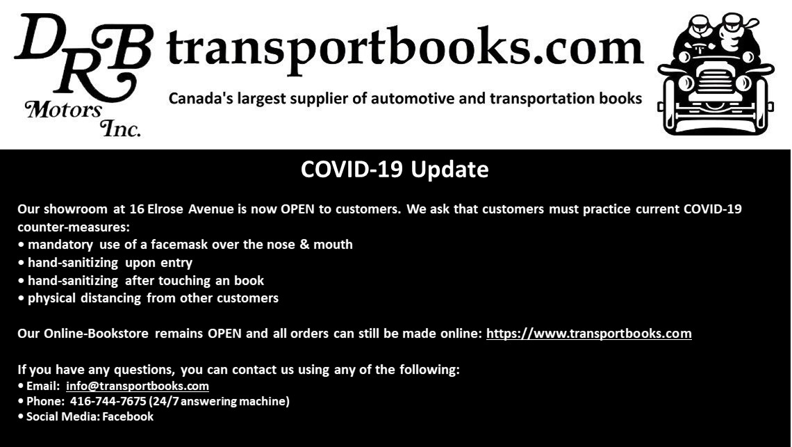 transportbooks.com – A Bookstore for Car, Motorcycle, Train, Plane, & Boat Enthusiasts